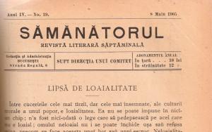 Revista SEMANATORUL