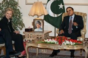 Pakistan US Clinton