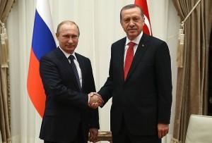 Erdogan-Putin-Baku